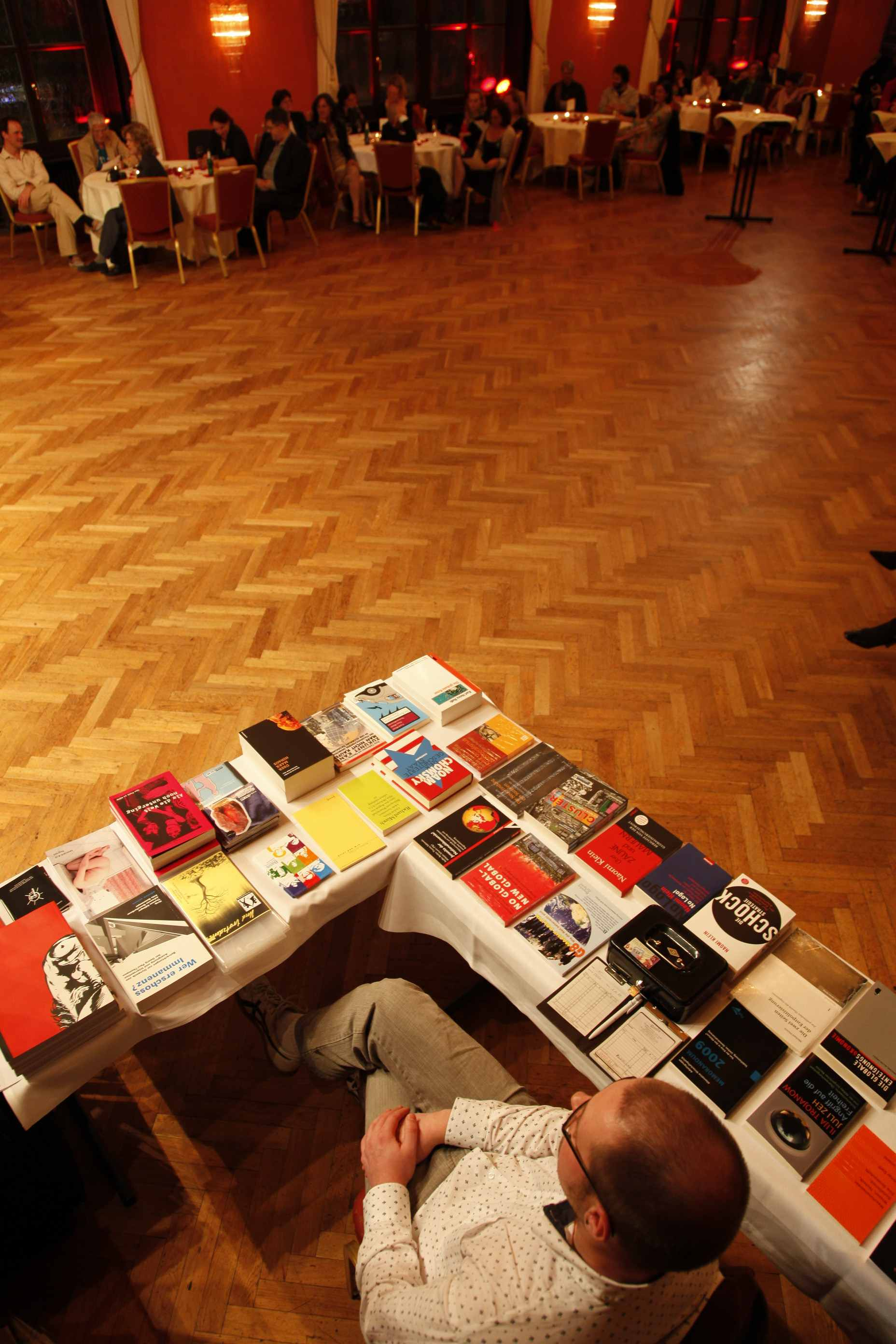 Bookstall, Munich 2009