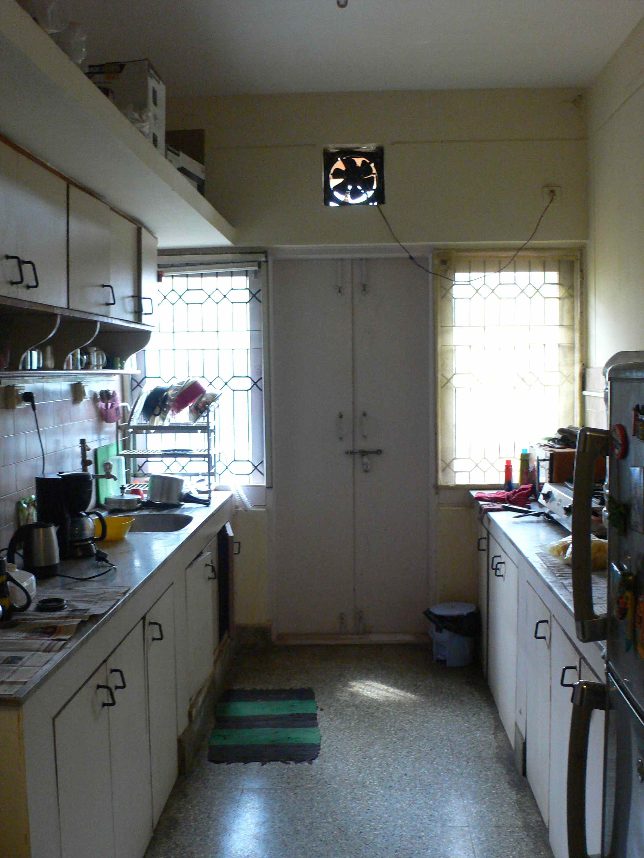 This is the kitchen