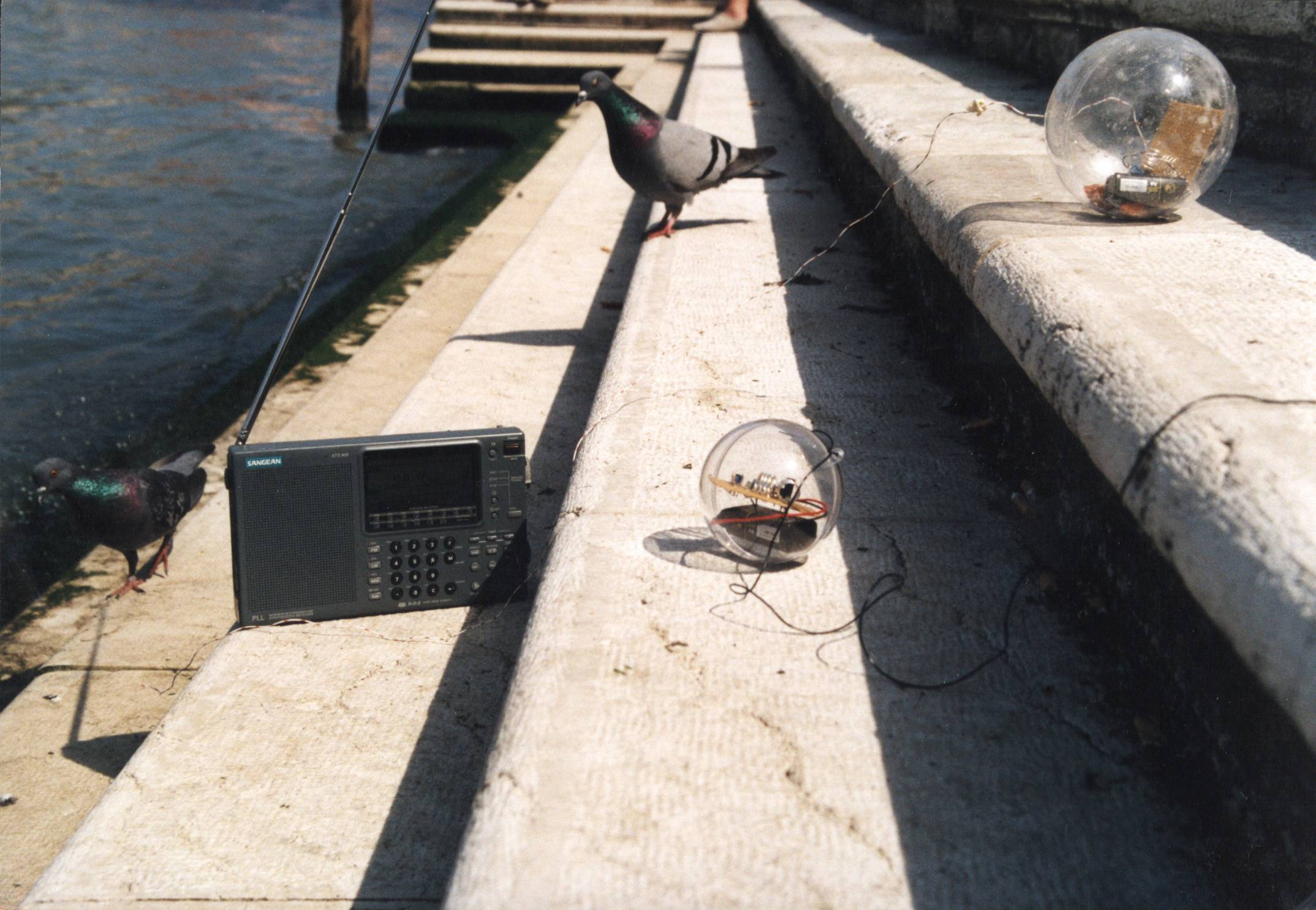 Bubble Radio - Waves of and in the Canal Grande, Venice